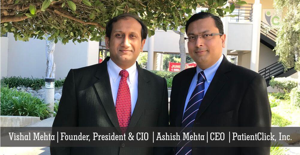 Vishal Mehta   Ashish Mehta   PatientClick   Insights Care