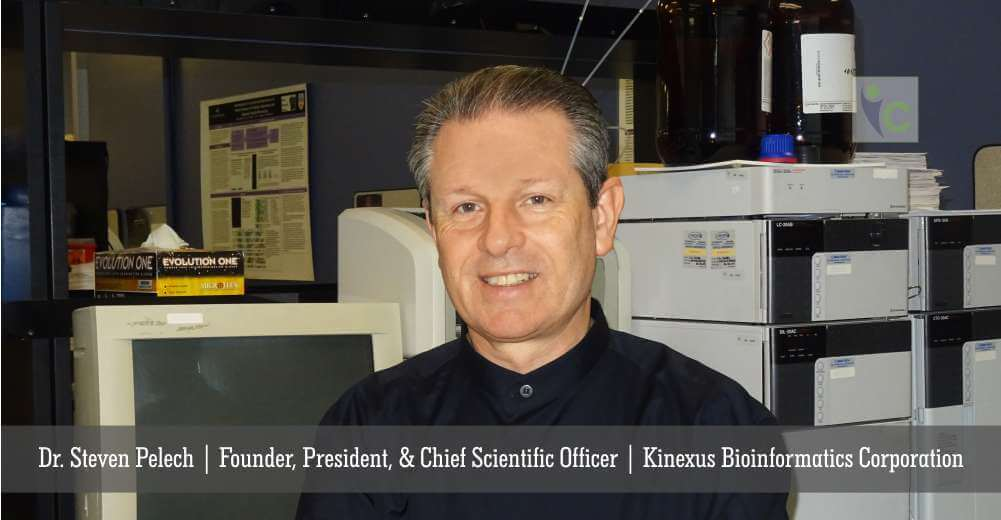 Dr. Steven Pelech | Founder, President, & Chief Scientific Officer | Kinexus Bioinformatics Corporation | Insights Care