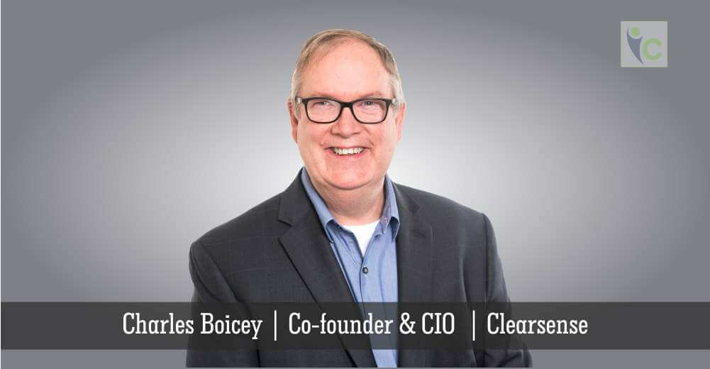 Charles Boicey | Co-founder and CIO | Clearsense | Insights Care