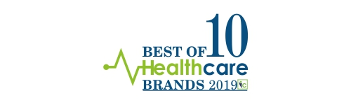 Best of 10 Healthcare Brands 2019 | Logo(web) | Insights Care